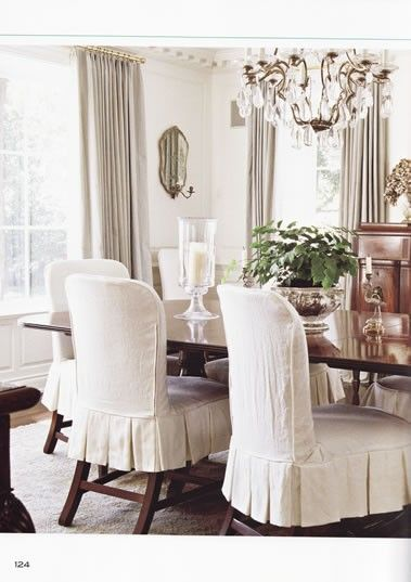 dining room chair covers find this pin and more on dining room. love these darling chairs WGXSESP