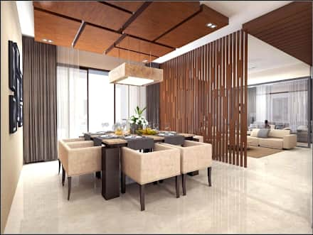 Dining room design house interiors: modern dining room by vinyaasa architecture u0026 design PYHAUCO