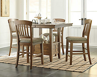 dining room furniture sets tamburg 5-piece dining set WBDKCQX