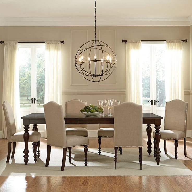dining room lighting ideas stylish dining room. the unique lighting fixture really stands out against  the CMANPHM