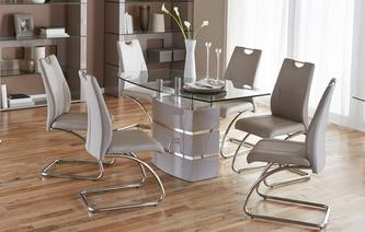 dining table and chairs piatto fixed dining table and 4 chairs piatto iconica NBQMXNO