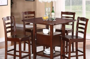 dinner table set 5pc dining set with storage MHDWNTB