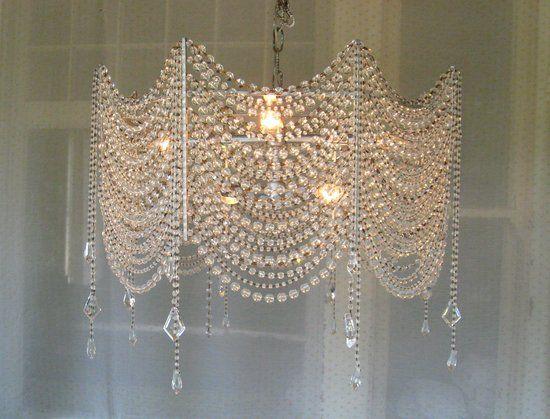 diy chandelier diy crystal chandelier - google search FHKSRPX