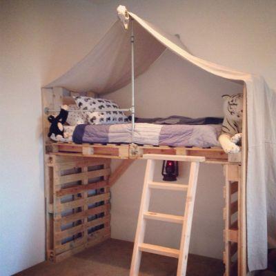 diy kids loft beds diy loft bed JAGOEUU