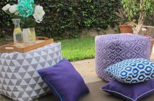 diy outdoor pillows and cushions | fiskars MBZPCMQ
