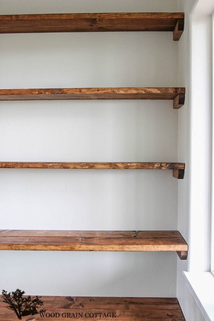 diy shelves - 18 diy shelving ideas IULBUVS