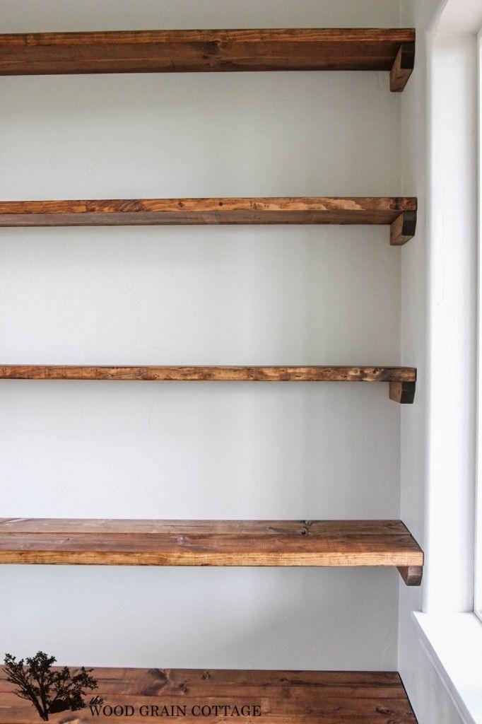 diy shelves - 18 diy shelving ideas IULBUVS