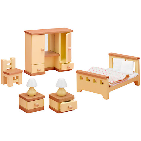 dolls house furniture buy john lewis dollu0027s house accessories, master bedroom furniture online at  johnlewis.com BORVXFF