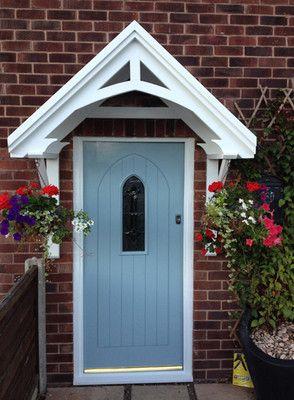 door canopy, wooden porch awning, front door canopies - didnu0027t even know EODGXNB