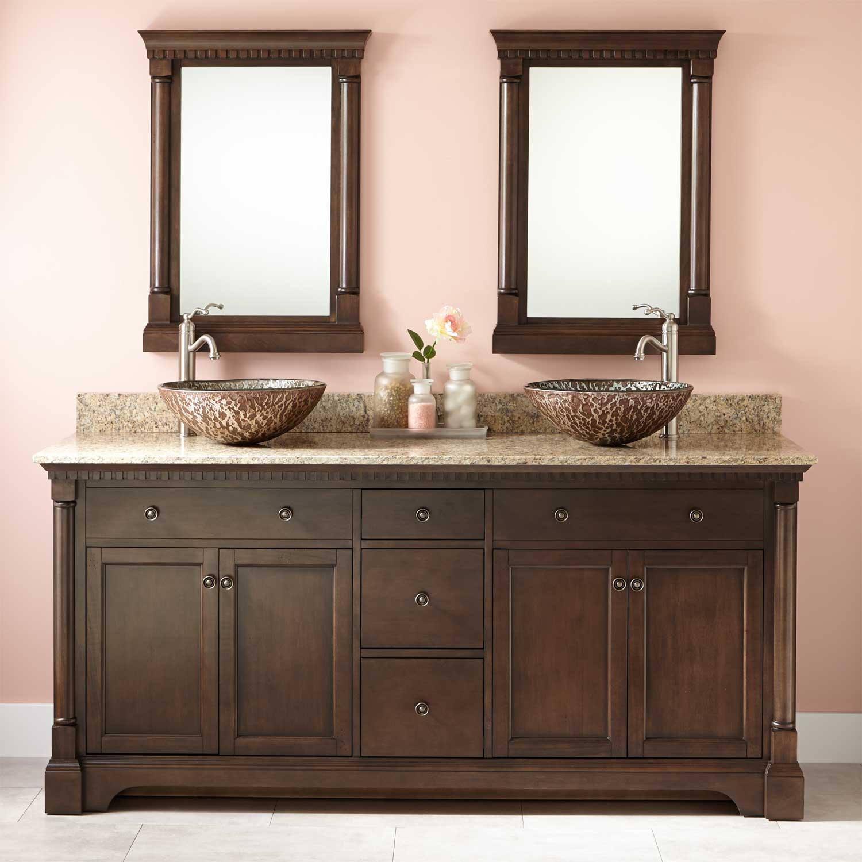 double sink vanity 72 GINOHFT