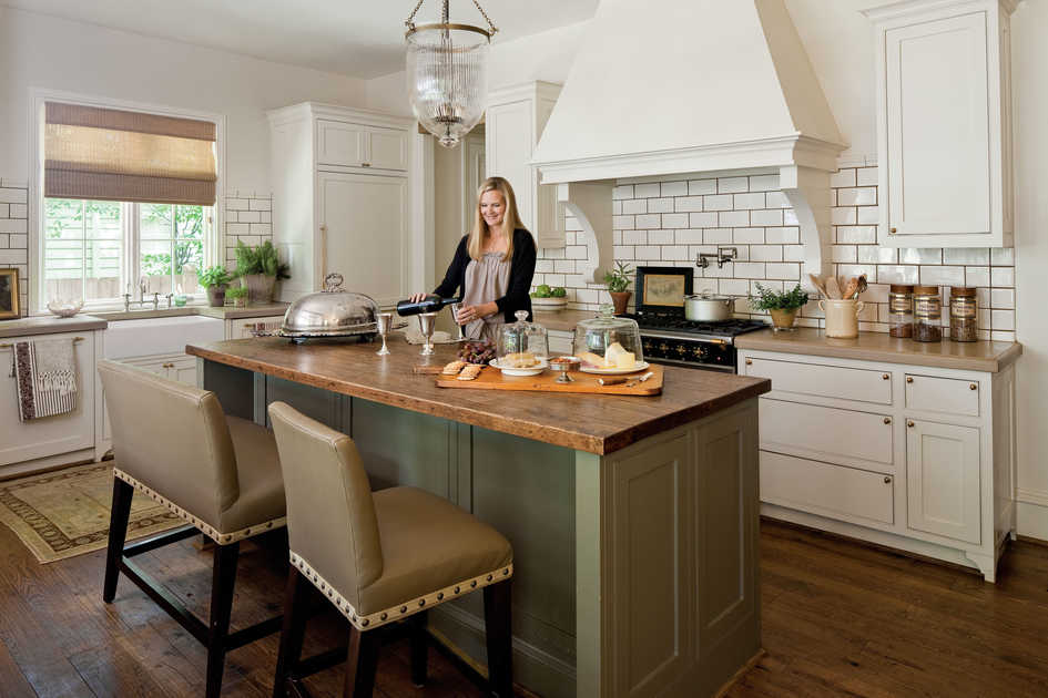 dream kitchens dream kitchen: the gathering room KICSFJC