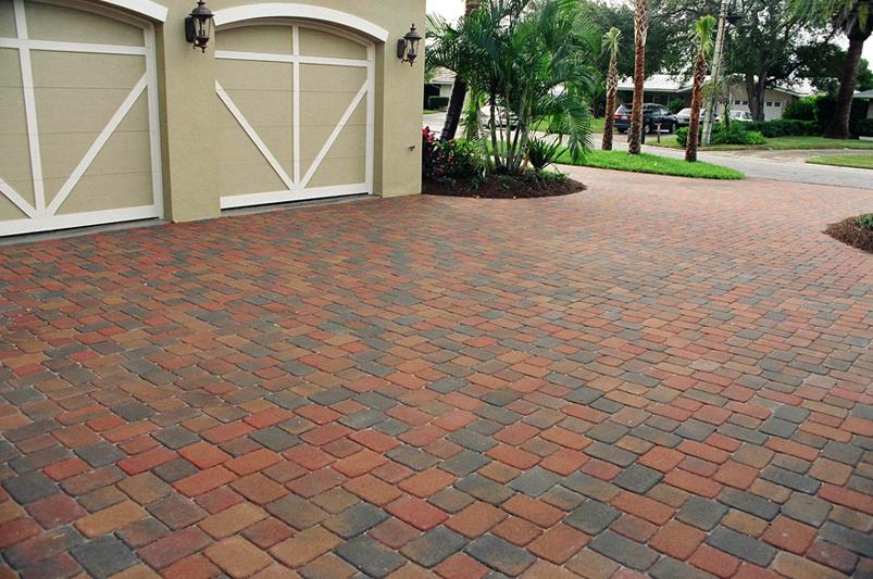 driveway pavers ... brick paver driveway ... IIFCYDB