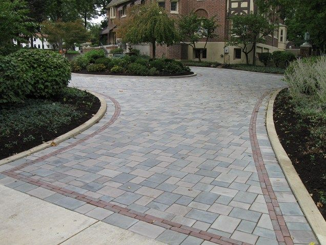 driveway pavers gray paver driveway, paver driveway border driveway the site group, inc.  new GDIDKJT