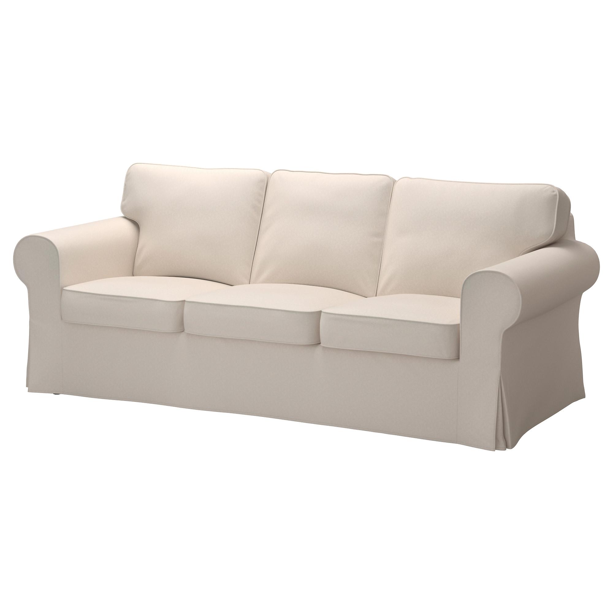 ektorp sofa cover - lofallet beige - ikea WVFYNLA