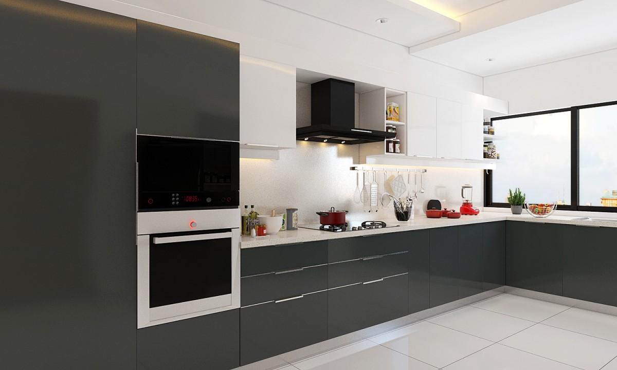 elaine l-shape modular kitchen WTXKSND