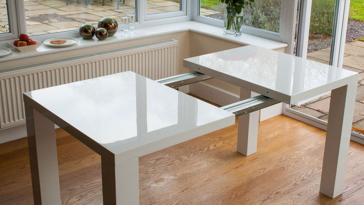extendable dining table amazing-modern-extendable-dining-table VSRQAYR