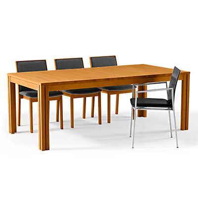 extendable dining table rectangular extending dining table sm 24 by skovby JOOABMK