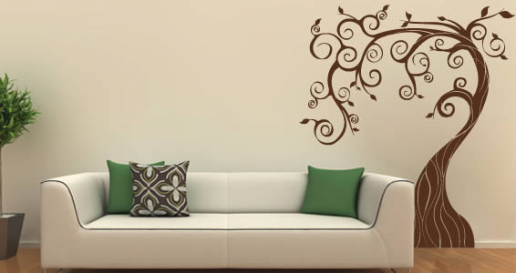 fairy tree wall decals SEVIORM