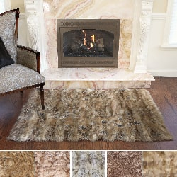 faux fur rug faux fur rugs u0026 area rugs - shop the best brands today - CRWJCON