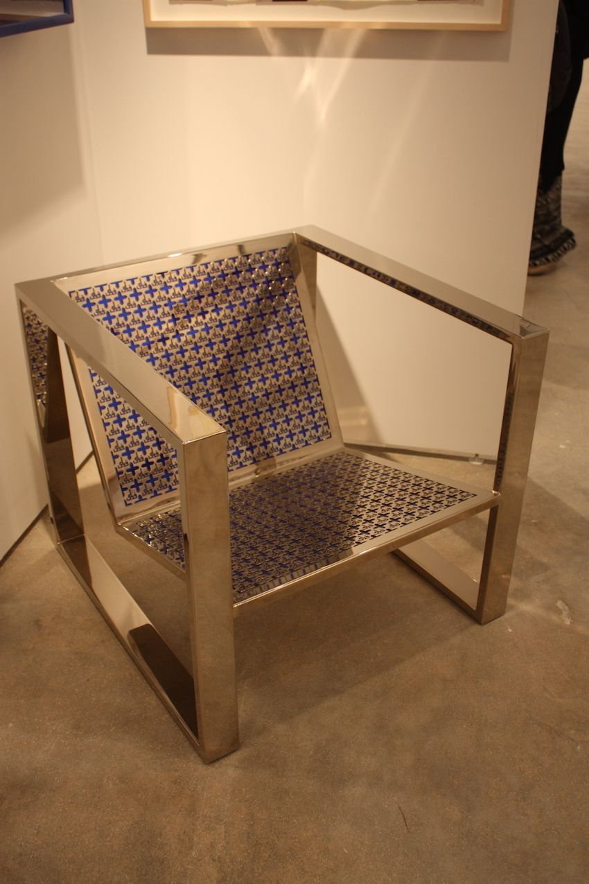 few armchairs were to be found among the art furniture, but this piece BKYTDTS