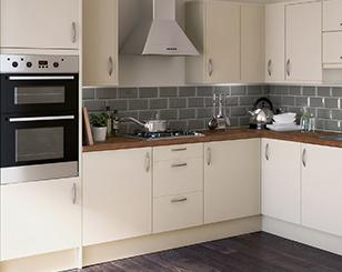 fitted kitchens cream slab QPCBACB
