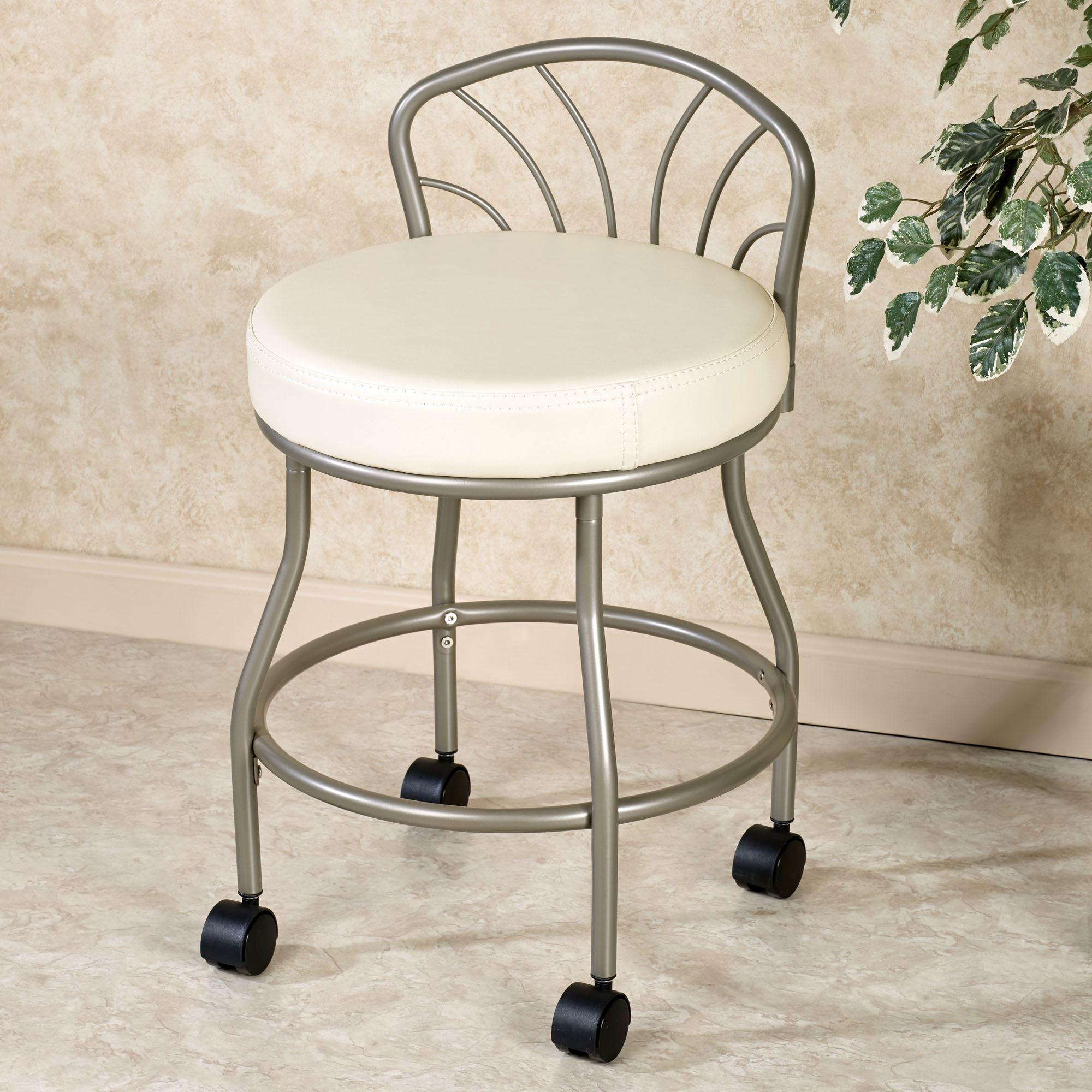 flare back powder finish vanity chair. click to expand TXIQTCV