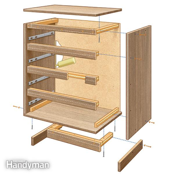 flat pack furniture reinforce joints when assembling flat-pack furniture. fh12feb_reifur_01-2 SJGIJKC