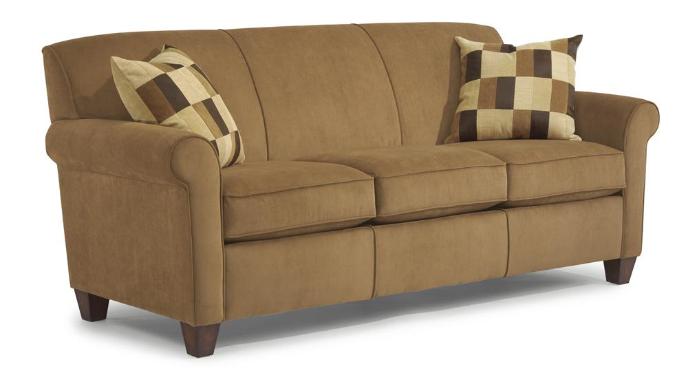 flexsteel sofa flexsteel dana stationary sofa - item number: 5990-31 MVUNFTE