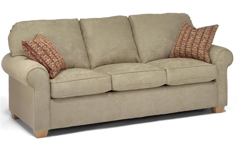 flexsteel sofa flexsteel thornton queen sleeper sofa - item number: 5535-44 DACMCLH