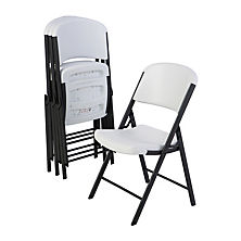 foldable chairs best seller lifetime commercial grade contoured folding chair, select color  - 4 WEWGEJT