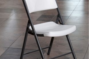foldable chairs lifetime classic commercial folding chair, set of 4 - walmart.com SVHIAWZ