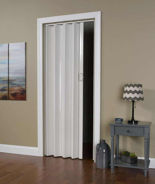 """the folding door"" gives a pleasant visuals and useful to making some space"