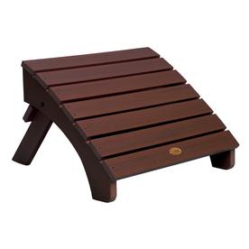 foot stools highwood usa adirondack weathered acorn plastic ottoman UOFLRTT