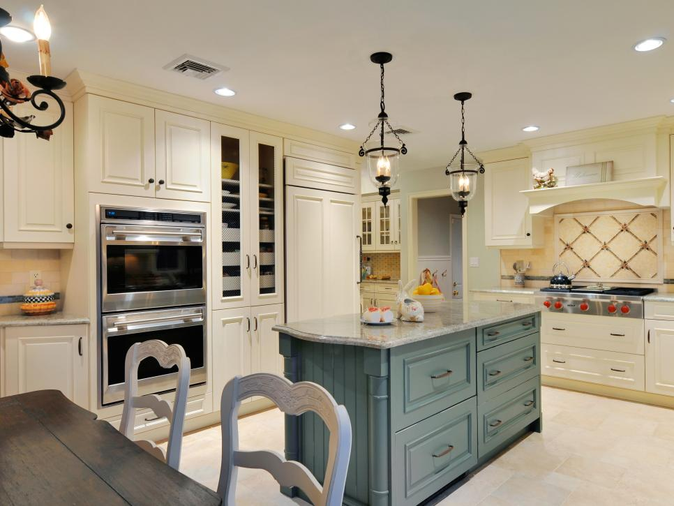 french country kitchen french country kitchens | hgtv TPMCNLV