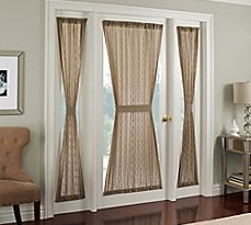 french door curtains image of crystal brook door panel VJSOAZU