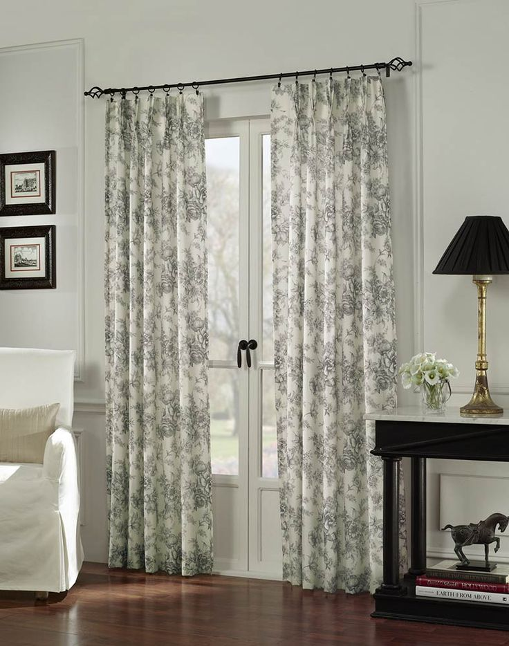 french door curtains view in gallery french doors drapes black white toile LOIZTAT
