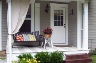 front porch ideas even a small front porch usually could fit a bench. GVIDDCK