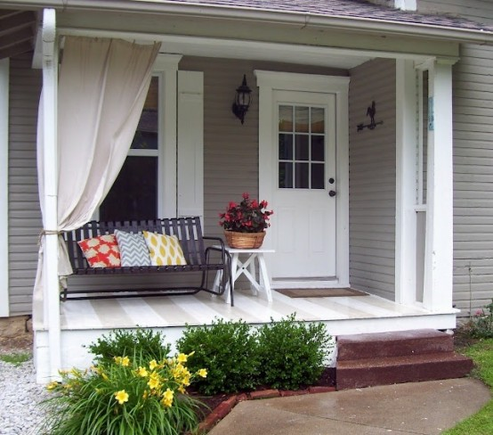 """""""front porch ideas"""" an important part of a house"""