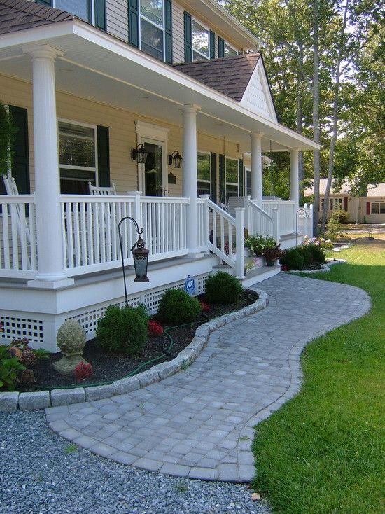 front porch ideas traditional exterior front porch design, pictures, remodel, decor and ideas.  soooo pretty MUHFXBS