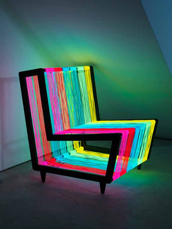 funky furniture design fair  cool20disco20illuminated20light20chair20furniture AULEAWD