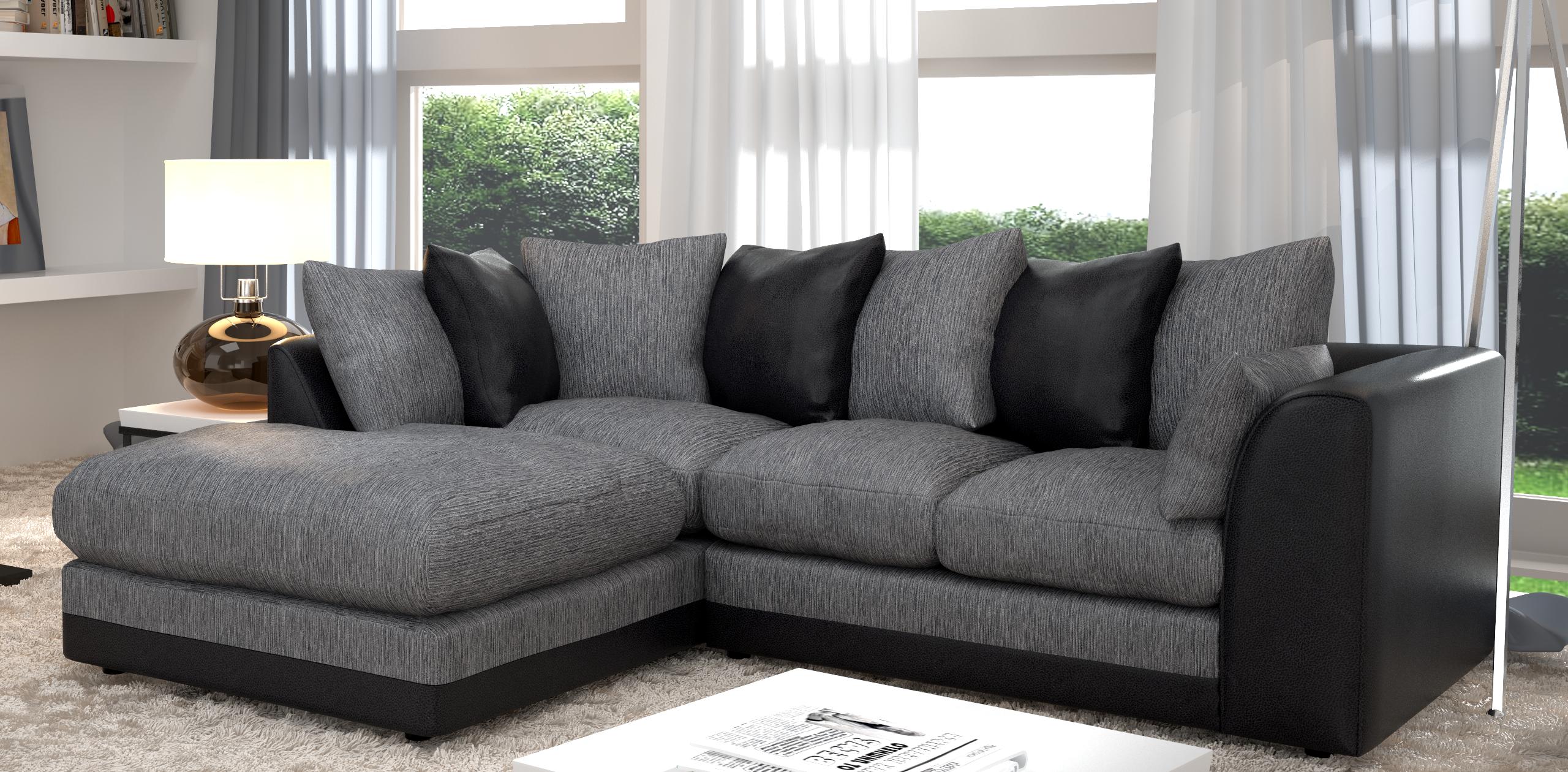 furniture. silver grey sofas ... IUNKERQ