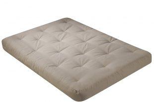 futon mattresses amazon.com: serta cypress double sided innerspring queen futon mattress,  khaki, made in XPDYOPO