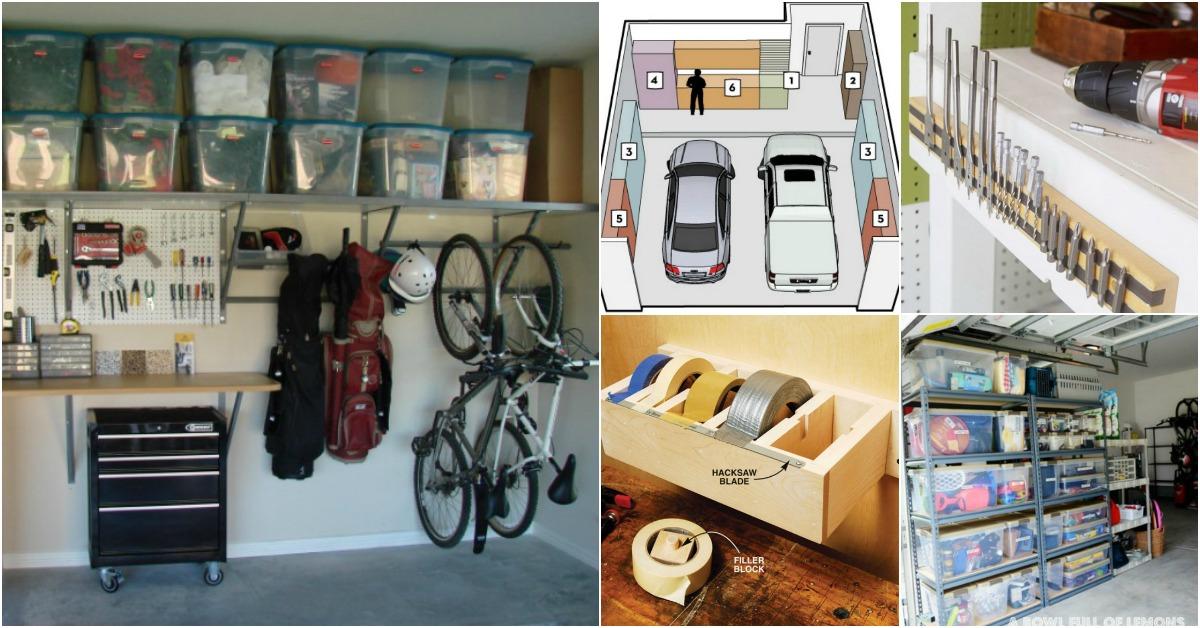 garage organization ideas 49 brilliant garage organization tips, ideas and diy projects - diy u0026 crafts TPDCMGR