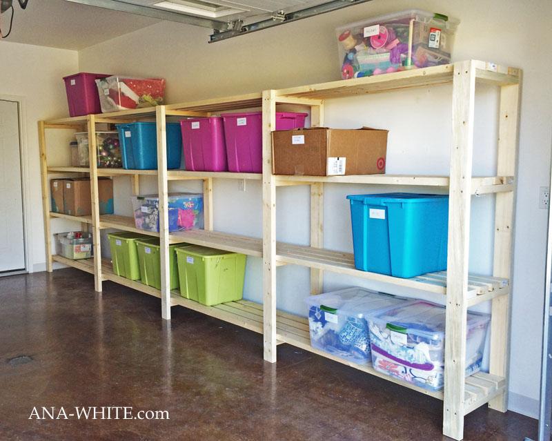 garage organization ideas easy and economical garage shelving HTVMRKA