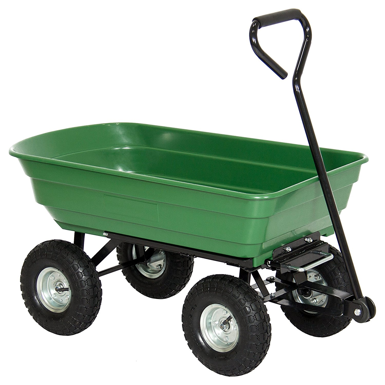 Garden carts make gardening easier