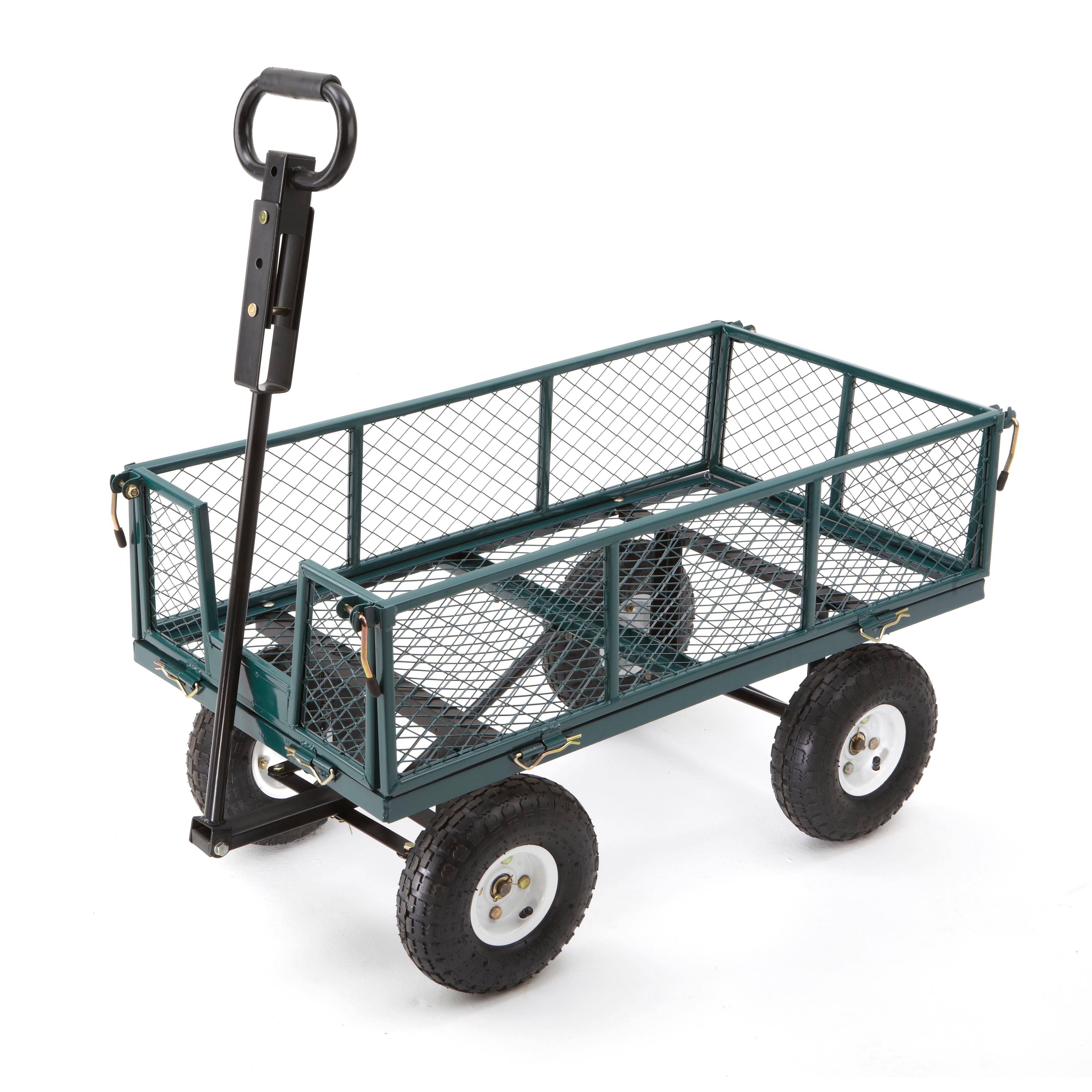 garden cart gorilla 2-in-1 utility cart HOSSIJD