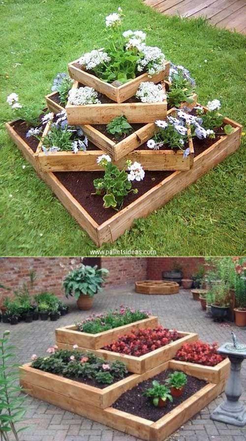 garden ideas 20 truly cool diy garden bed and planter ideas EIGGFHV