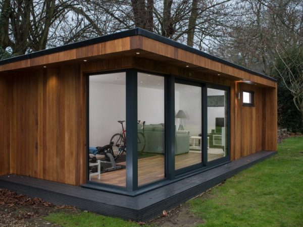 Garden rooms provides relax to mind and soul