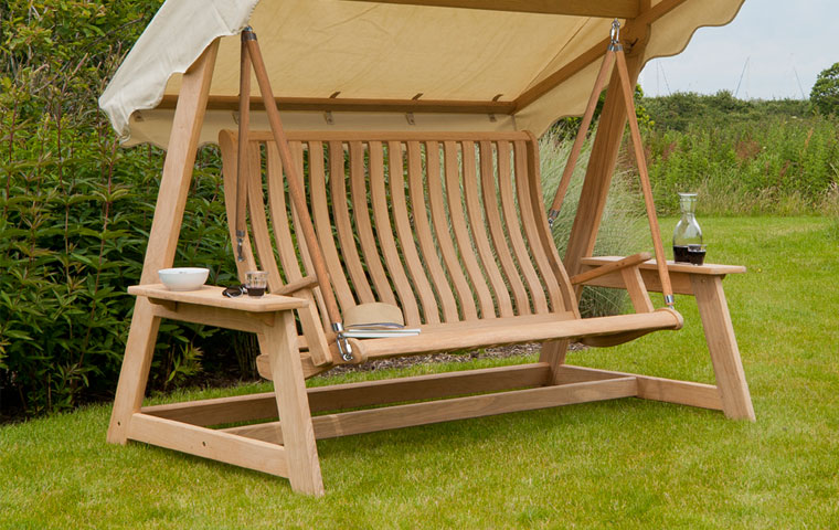 garden seats teak wood furniture: it contains natural oils which repel critters and  pests NYVCXOI