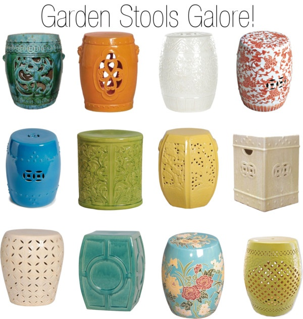 garden stools  HDCJSAT